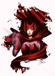 SCARLET WITCH by C3NTRIC