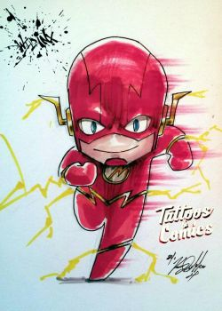 The Flash Chibi by Wild-Inx