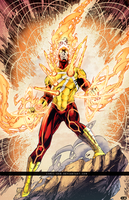 Firestorm|Battle Artist| by comic-eeb