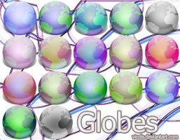 Globes icons V1.2 by vIcOls