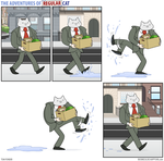 The Adventures of Regular Cat - Puddle by tomfonder