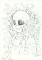 Traditional Sans by LonicHedgehog