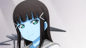 Blue Skinned Dia looks Nice by AlexArgentin