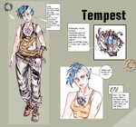 Tempest (character Sheet) by LadyMintLeaf