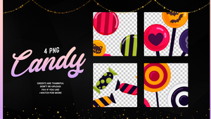 Candy | PNG #02 by Mondai-Girl