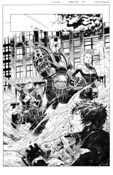 Avengers 35 page 23 by MarkMorales