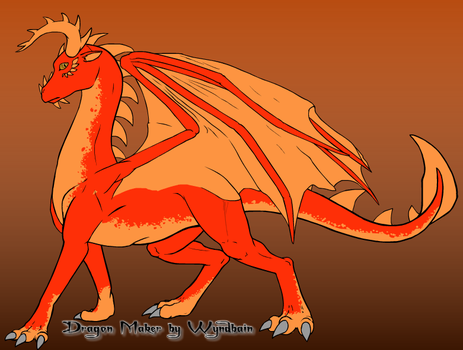 Valcano Dragon by ASHREDFORD