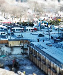 small scale winterlude by Fraulyne
