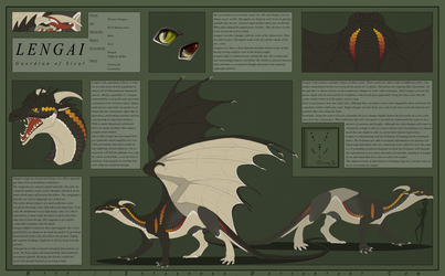 Lengai 2.0 Reference Sheet by Syvaender