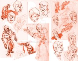 Marty McFly Gestures and Expressions by Stnk13