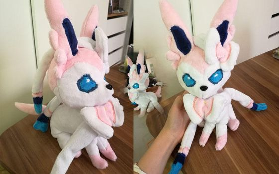 Sylveon Plush by SelkieStuff