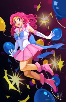 Sailor Pinkie Pie by YoukaiYume