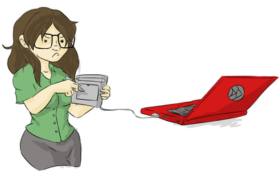Horrible Graphics Tablet by DaffydWagstaff