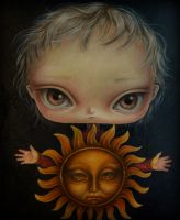 Diptych.part 1. The Sun. by paulee1