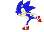 Go Sonic Go - Colored by SonicHearts