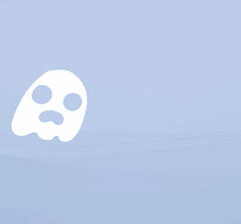 Nervous Ghostie by Cakeybots