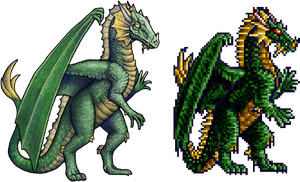 HoMM II Green Dragon Remake by AshiRox