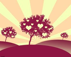 Trees of Love by JavierZhX