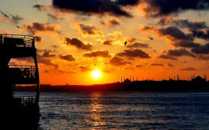 Cruising Istanbul without YOU by vabserk