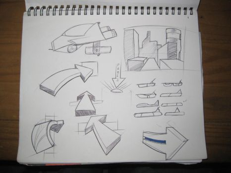 D33MU - Another Sketch Page by ComplxDesign