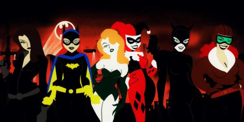Gotham Girls The Animated Series by bat123spider