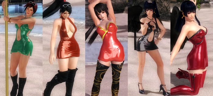 [MOD PACK] Slutty Dress Theme Set 4 by funnybunny666