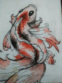 Fish Koi by LadyEstreline