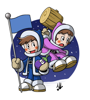Ice Climbers by fryguy64