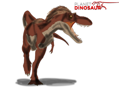 Planet Dinosaur- Gorgosaurus by Vespisaurus