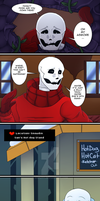[UT COMIC] PAGE 2: Where's Frisk?