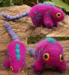 Felted critter by kaasha