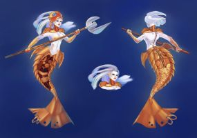 Golden Fish Nami by OlchaS