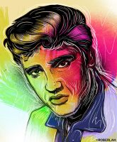 Elvis by roberlan