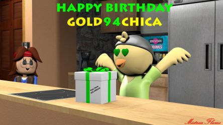 Happy Birthday Gold94Chica by MistressFlame