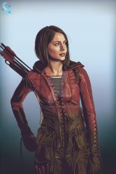 Thea Queen (Speedy) by kyouzins