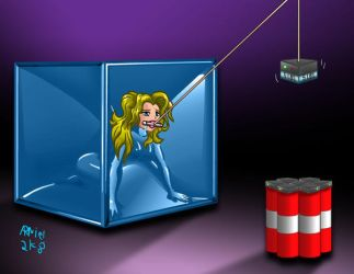Black Canary's Vacbox Peril by ARNie00
