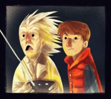 Back to the future!! by peerro