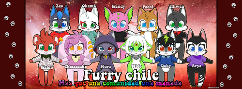 furry chile F by Midowko