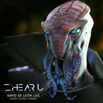 Z'hearu, by Daviddleonluis