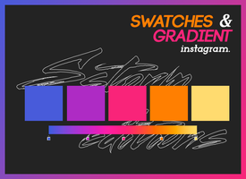 Swatches And Gradient Instagram By Sstormeditions by sneeuwstorm