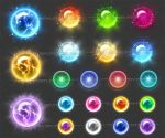 Magic Orbs 2 (downloadable stock) by Rittik-Designs