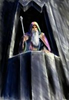 Saruman of many colours by TolmanCotton