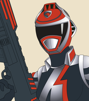 A-Squad 1 Red Ranger by RiderB0y