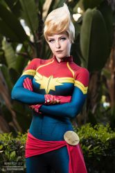 Captain Marvel 2019 by Maid of Might Cosplay by wbmstr