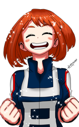 Ochako Uraraka Kawaii by Protex911