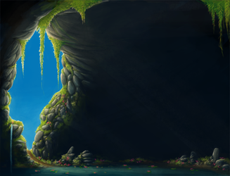 RPGM Resource - Cave by ProjectPixelChest