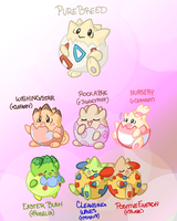 Togepi Variations