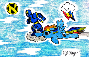 Riding The Skies by StealthNinja5