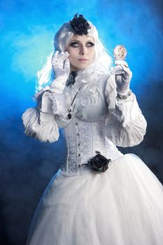 White Gothic Queen Stock by Nerium-Oleanders