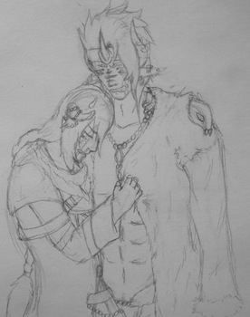 Meeting after many years...WIP by Valryn